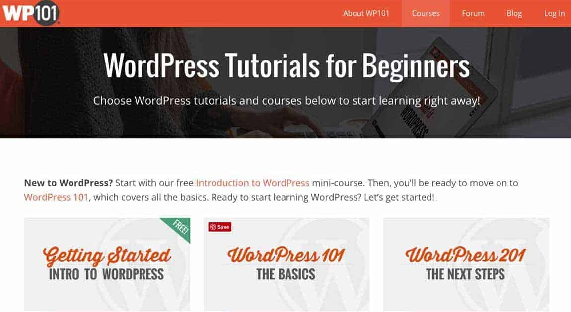 Learn how to use WordPress with WP101.