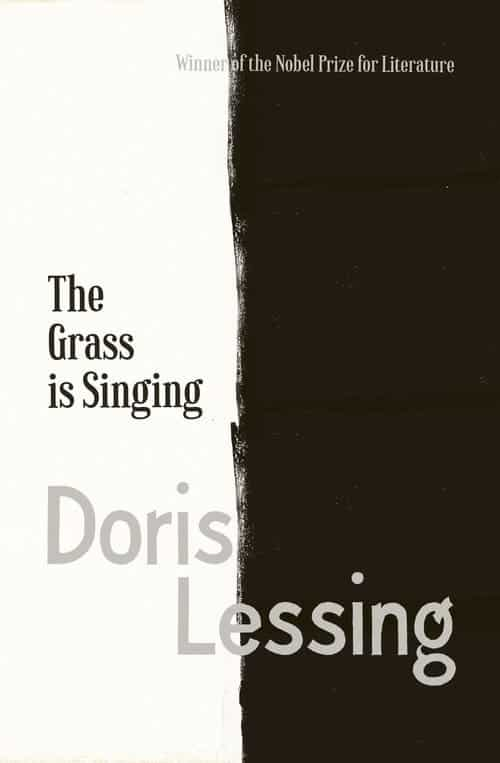 Book cover by Jo walker of the book The Grass is Singing by Doris Lessing