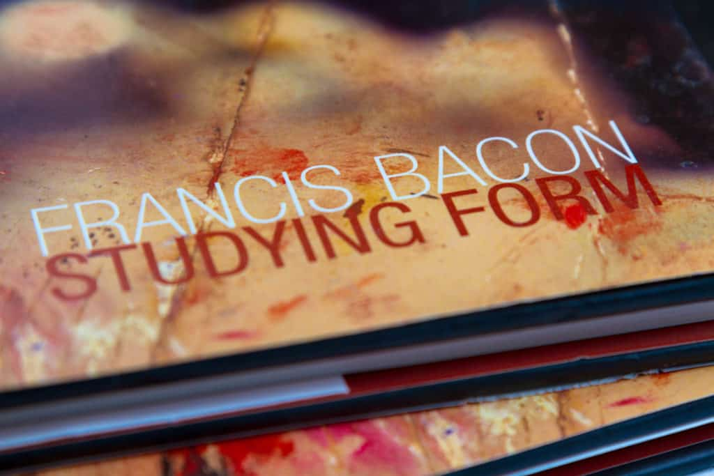 Detail of Francis Bacon catalogue cover 'Studying Form'
