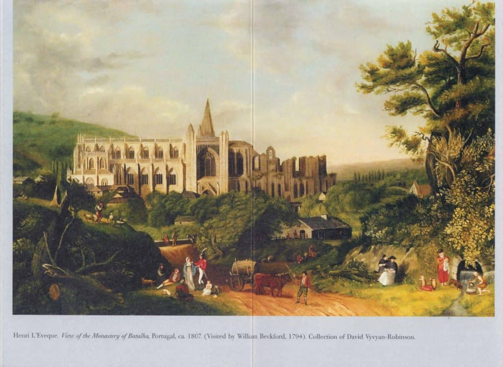 Landscape spread from William Beckford Booklet, Dulwich Picture Gallery, London
