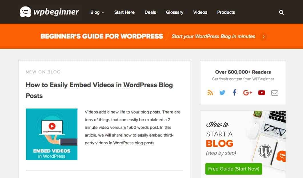 Learn how to use WordPress with WPbeginner