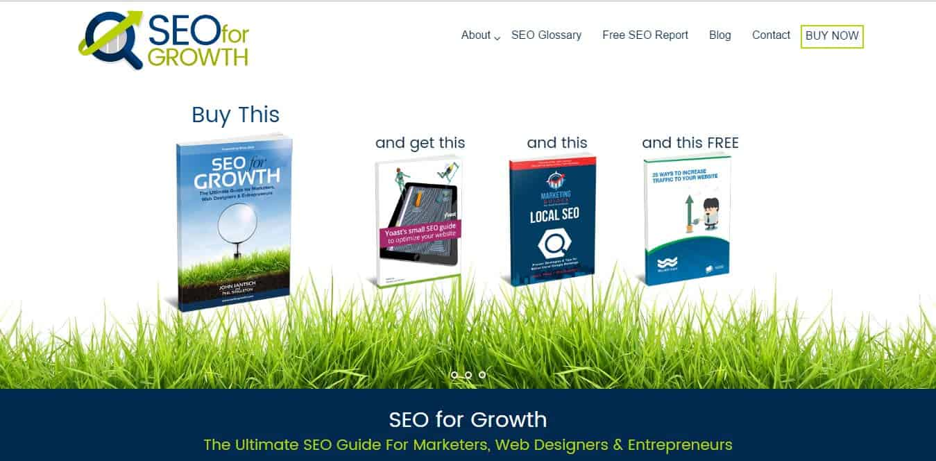 Best SEO resources that are cheap or free: SEO for Growth by Phil Singleton and John Jantsch