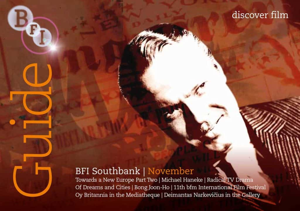 BFI Guide Cover based on a still from Citizen Kane