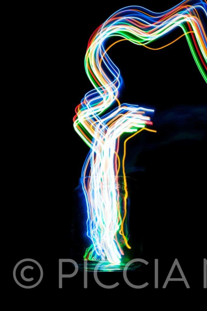 Free image download of light trails